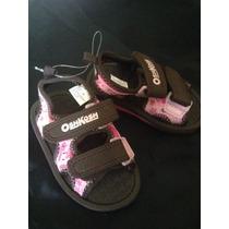 Sandalias De Playa Para Niña Oshkosh