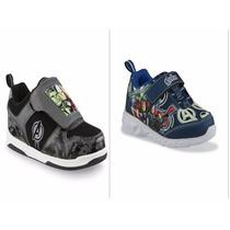 Zapatos Cars Star Wars Avengers Big Hero6 Dinosaurio Luces