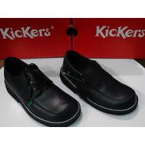 Zapatos Kickers Colegial Talla 29 Hasta 44.