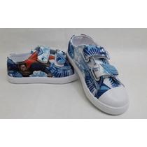 Zapatos Niños De Super-man