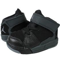 Botas Jordan Flight Originales Para Niños 10cm