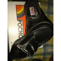 Zapatos Pocholín Negros Para Niños