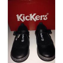 Zapatos Escolares Kickers Talla 24