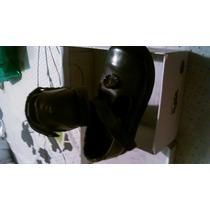 Zapatos Escolares Pocholin Negros Para Niña Talla 25