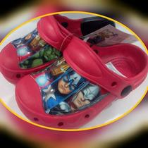Remate!! Sandalias, Cotizas, Cholas, Cholitas The Avengers