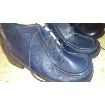 Zapatos Niños De Cuero Italiano Importados Talla 25-26