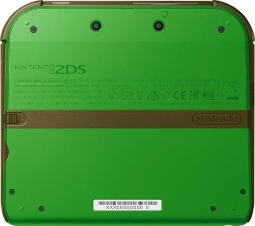 nintendo 2ds 25 jogos varias cores capa acrílica + película