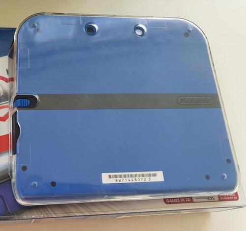 nintendo 2ds - azul eléctrico - mario kart 7