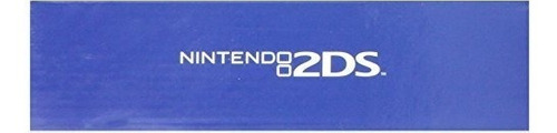 nintendo 2ds handheld system with mario kart 7 - electric bl