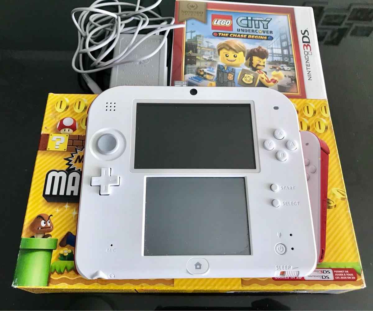 Nintendo 2ds Juego Mario Bros 2 Juego Lego City Nuevo
