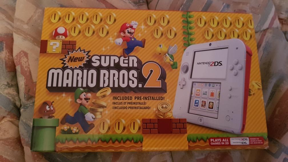 Nintendo 2ds Nuevo Con Juego De Mario Bros 2 Edicion Especi