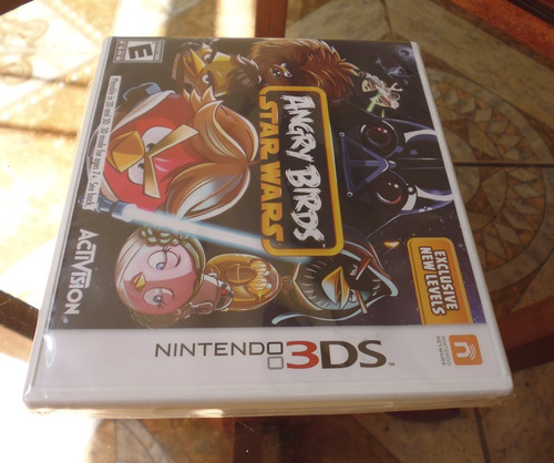 nintendo 3ds angry birds