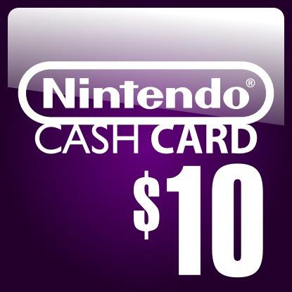 nintendo 3ds cash card 10 dolares