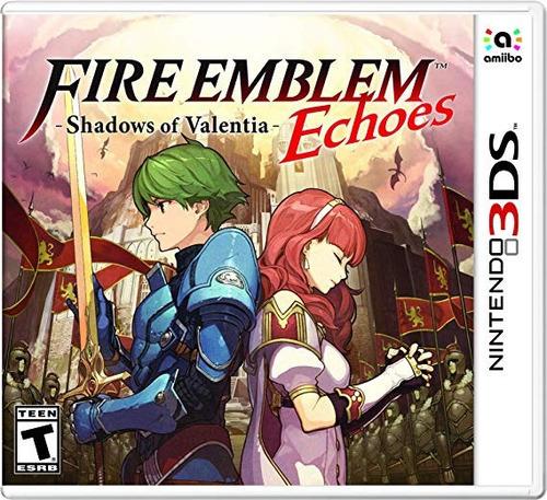 nintendo 3ds fire emblem echoes shadows of valentia