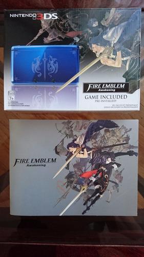 nintendo 3ds fire emblem y libro de arte