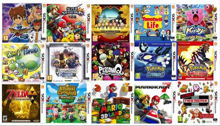 Se Vende Paquete De 500 Juegos Para Nintendo 3ds Programados