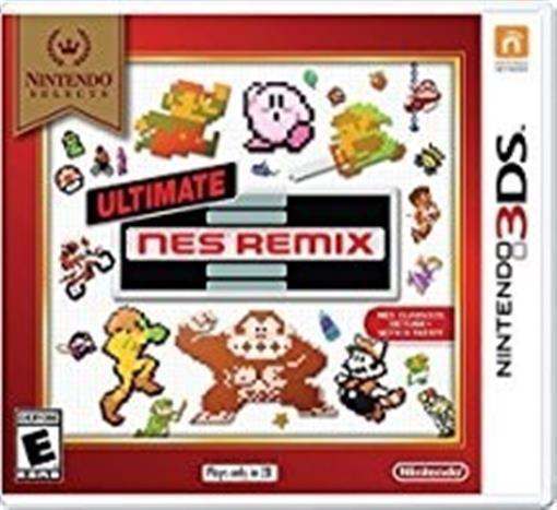 Nintendo 3ds Videojuegos Nes Ultimate Remix Juegos Clasicos