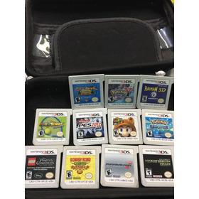 Nintendo 3ds Xl 11 Jogos Originais Ac Troca