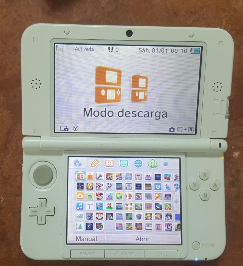 Nintendo 3ds Xl Edicion Rosa Con 64gb De Juegos 5 500 00 En