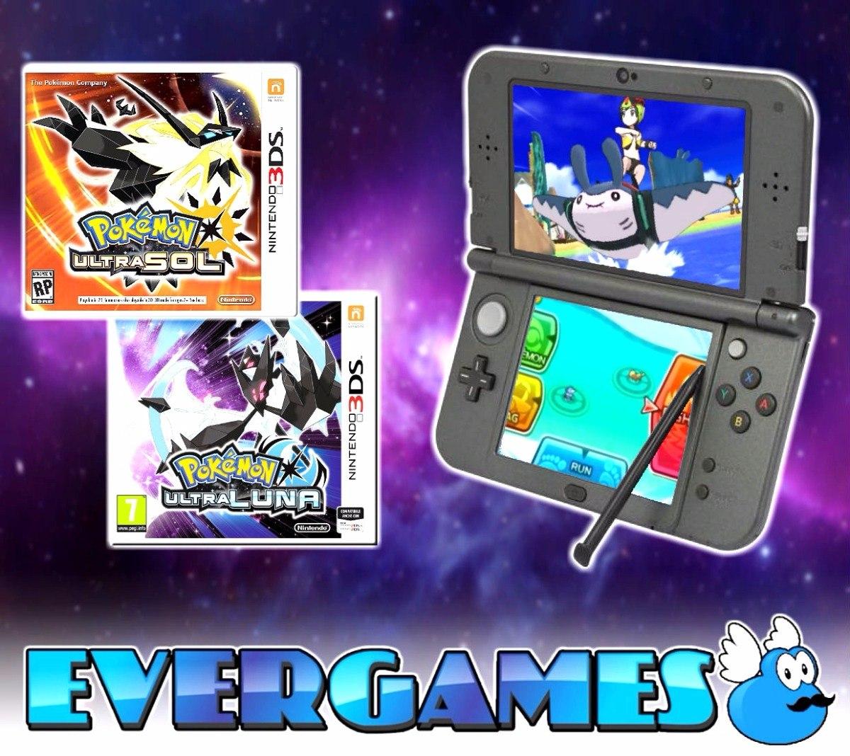 Nintendo 3ds Xl Juegos Evergames 7 399 00 En Mercado Libre