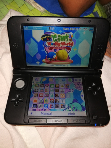 nintendo 3ds xl rojo con 4gb de sd