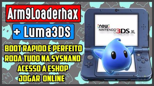 nintendo 3ds xl seminovo desbloqueado 32gb jogos pokemon sun