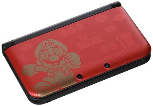 nintendo 3ds xl super mario bros 2 edición limitada rojo