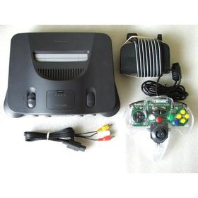 Nintendo 64 + Controle + Cabo A/v + Fonte! 100% + Garantia!
