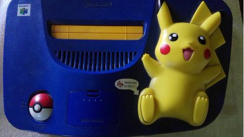 nintendo 64 edicion pikachu