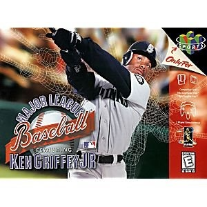 2ad7205df1 Nintendo 64 Major League Baseball Featuring Ken Griffey Jr ...