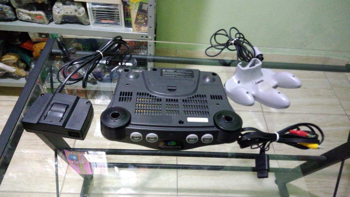 06ae63a6ccbe1 Nintendo 64, N64 Nacional Completo, Controle Analógico 100% - R  228 ...