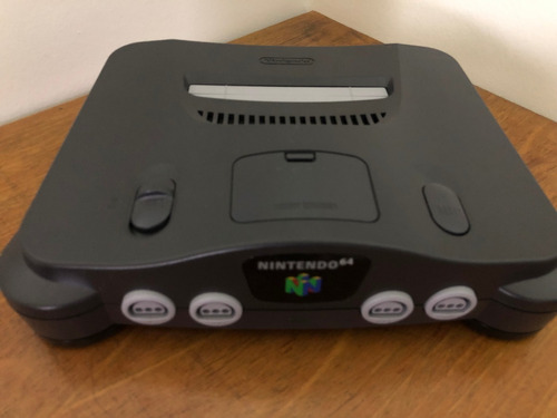 nintendo 64 original completo na caixa like new!