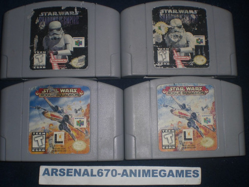 nintendo 64 star wars shadow of the empir rogue squadron n64