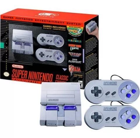 Nintendo Classic Mini 220 Juegos Super Nintendo 60 000 En