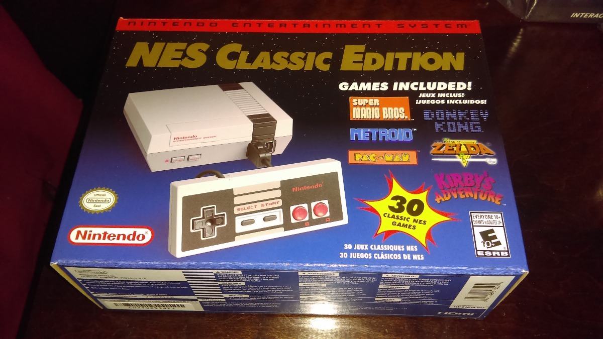 Nintendo Classic Mini Nes Nuevo Original Envio Gratis 1 899 00