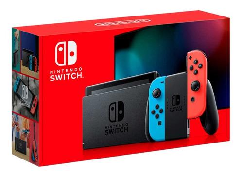 nintendo consola switch 2019, con mas bateria version 1.1