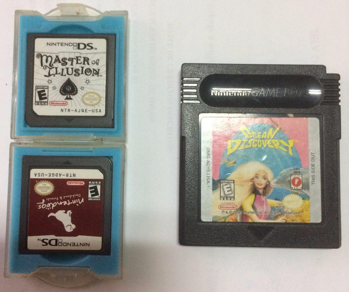 Nintendo Ds 2 Juegos Y 1 De Gameboy Usados Bs 10 000 00 En