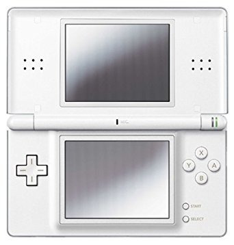 nintendo ds lite cristal white (out of production)