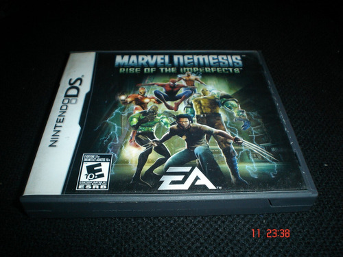 nintendo ds marvel nemesis rise on the imperfects nds
