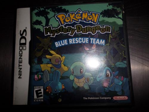 nintendo ds pokemon mystery dungeon blue rescue team