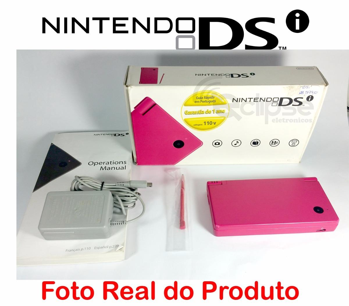 nintendo dsi envio imediato game portatil novo de vitrini r 520 rh produto mercadolivre com br Nintendo DSi ManualDownload Nintendo DSi Logo