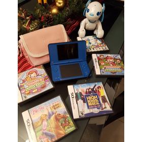 Nintendo Dsi Lite Xl Con 5 Juegos