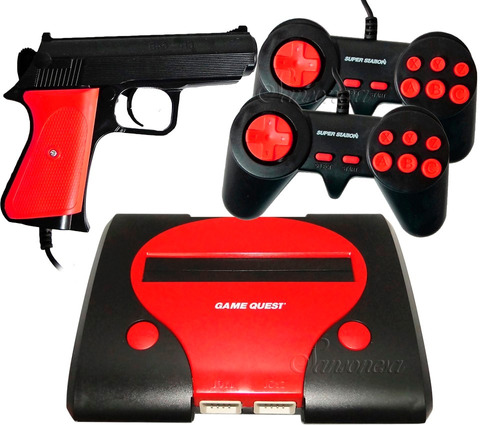 nintendo full juegos+videos+graficos+cable+controles+pistola