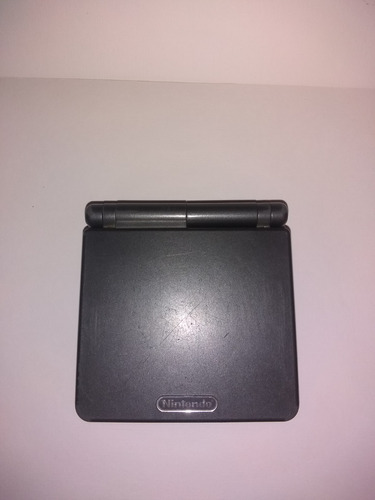 nintendo game boy advance sp color gris
