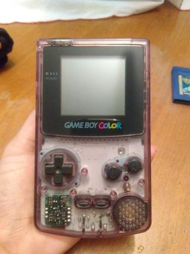 nintendo gameboy color con accesorios
