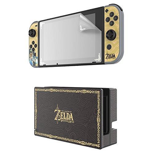 nintendo interruptor de zelda collector's edition, la protec