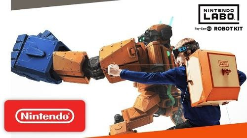 nintendo labo robot kit  - juego switch - sniper game