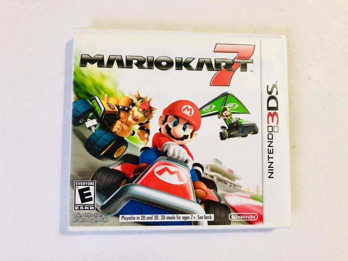 Nintendo Mario Kart 7 3ds Juego Para Nintendo 3ds Original