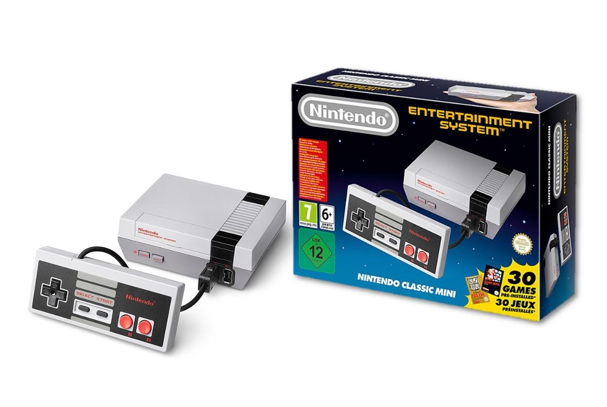Nintendo Mini Nes Classic 30 Juegos Original Europa Editio