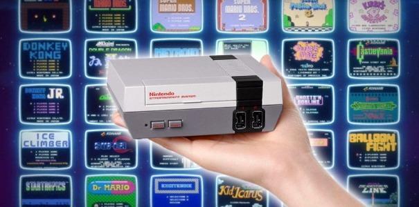 Nintendo Mini Nes Classic Edition 240 Juegos Nueva Sellada
